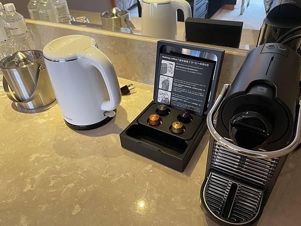 JR東日本大飯店台北 咖啡機