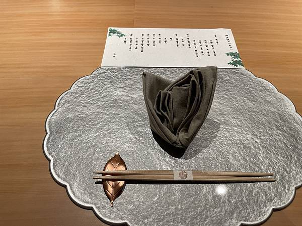 JR東日本大飯店台北 hAYASE菜單