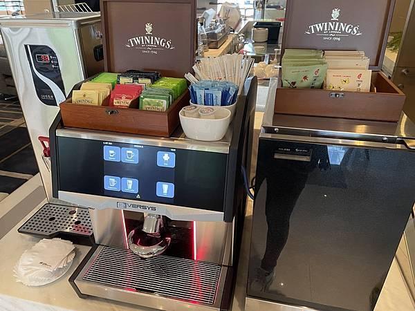 JR東日本大飯店台北 行政酒廊咖啡機