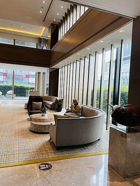 台北信義區飯店推薦  台北寒舍艾麗大廳