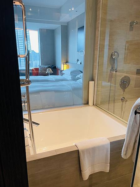 台北信義區飯店寒舍艾麗泡澡