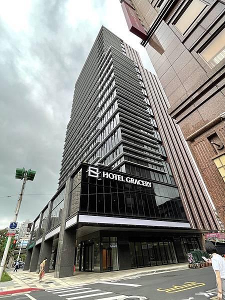 哥吉拉飯店:格拉斯麗台北 地理位置