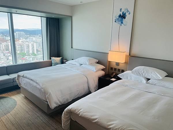 國泰萬怡飯店房間雙床房