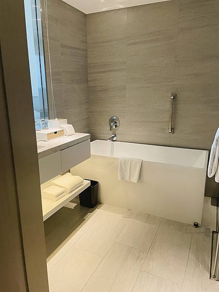 台北飯店推薦:國泰萬怡衛浴設備