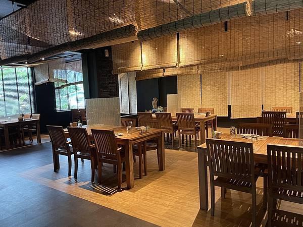烏來溫泉 馥森 阪治Trio 餐廳室內