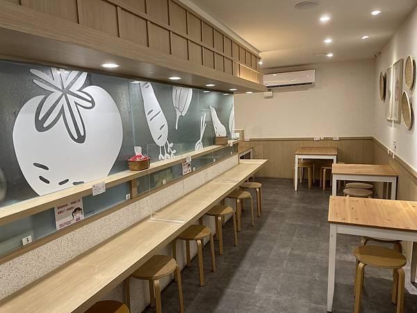 台北大安美食推薦:農粹日式咖哩 店內用餐區