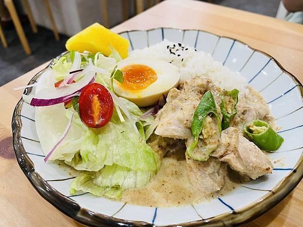 台北大安美食:農粹香料雞肉咖哩飯