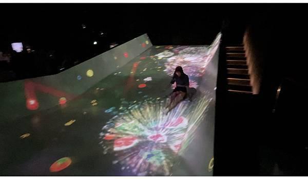 teamLab台北2021 滑梯水果園特色