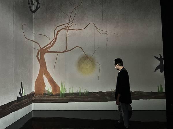 teamLab 台北展覽 遠古神靈的故事
