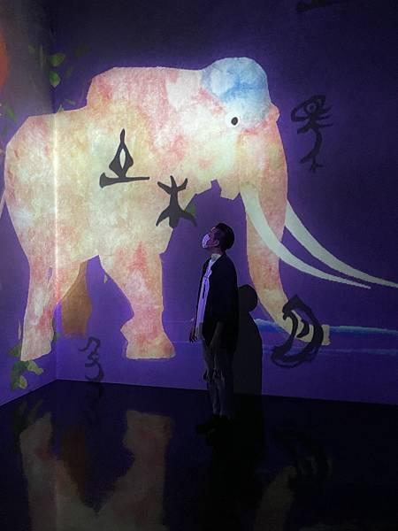 teamLab 台北 2021 遠古神靈的故事展覽特色