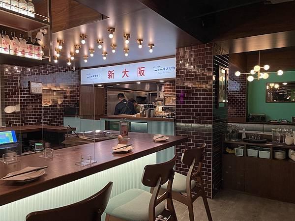 台北居酒屋:新大阪 內部擺設