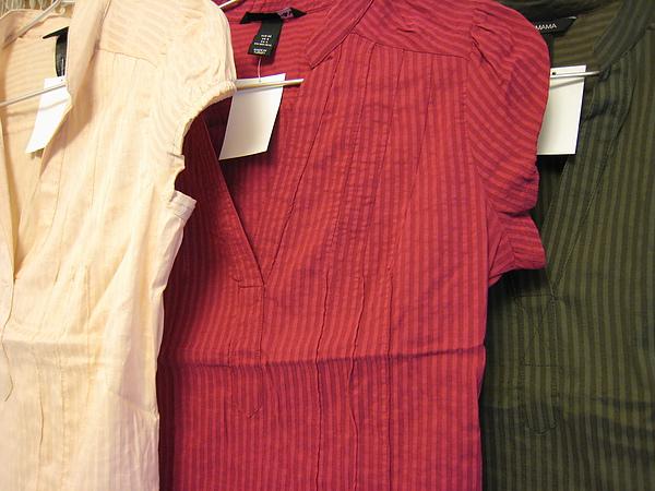 V領小包袖襯衫 302010-2.JPG