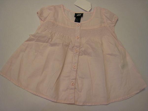 春光暖暖粉色小包袖襯衫 844230.JPG