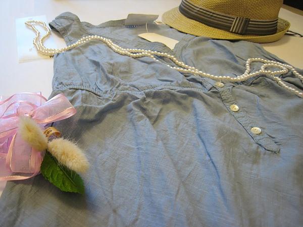 夏日單寧風短洋裝 472660 -1.JPG