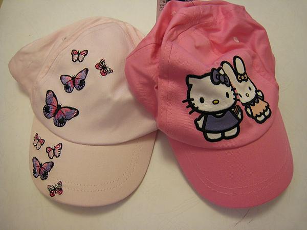 蝴蝶棒球帽 528270 & Kitty棒球帽 525270.JPG
