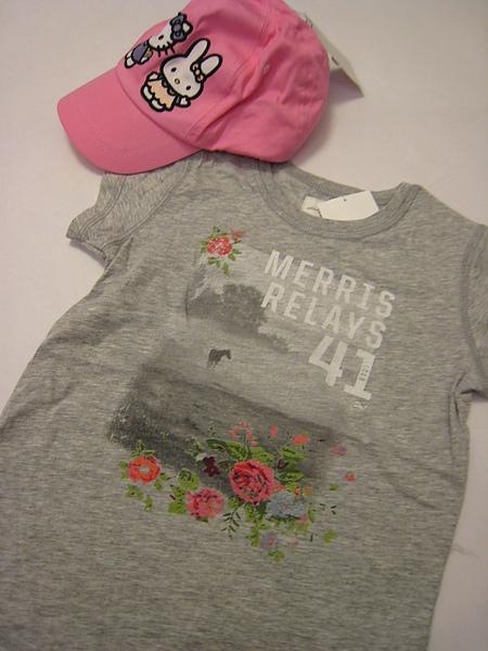 灰色花漾T恤 622060 -1.JPG