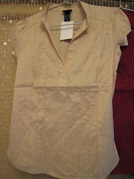 V領小包袖襯衫 302010 -3.JPG
