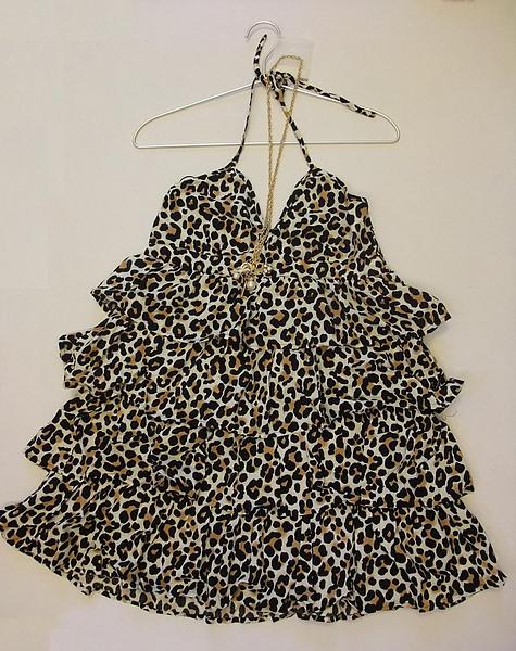 豹紋性感小洋裝 527120 -1.JPG