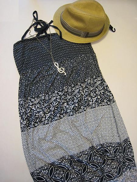 浪漫藍印花連身長洋裝 780660.JPG