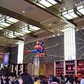 蜘蛛人記念品館內