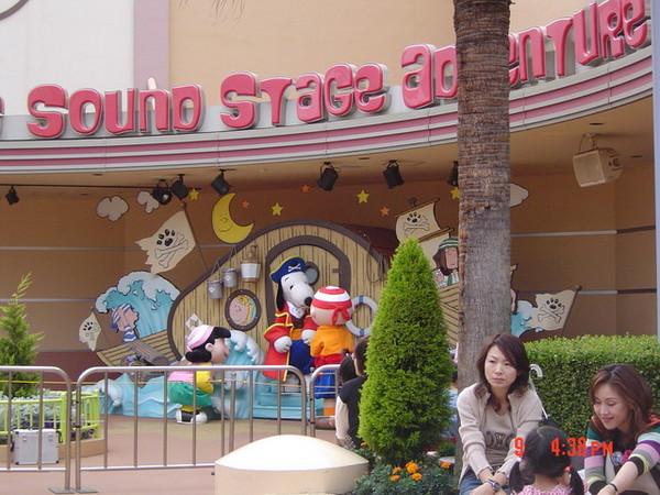 Snoopy表演