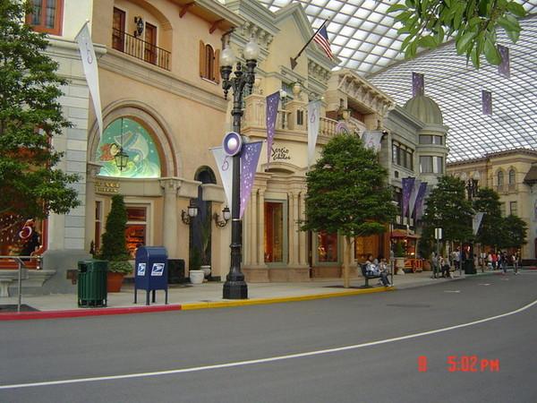 影城的街道