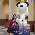 和我喜歡的Snoopy合照