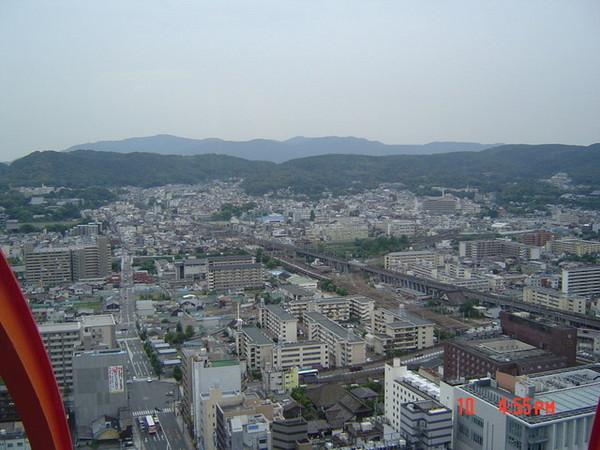 京都塔景色