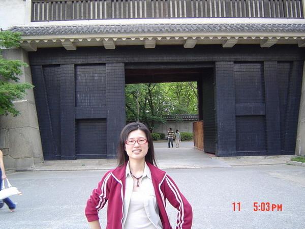 大阪城城門