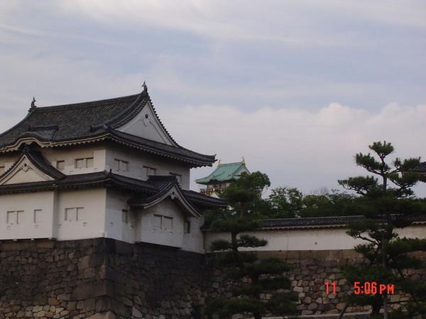 遠看大阪城