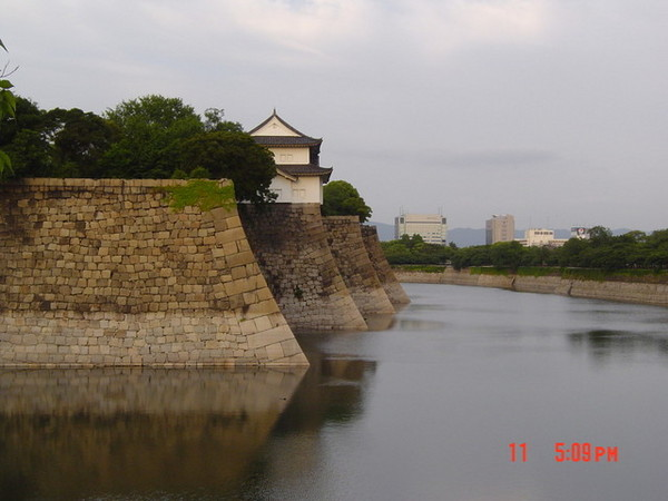 大阪城護城河