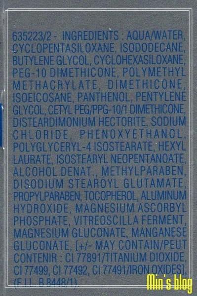 BIOTHERM--親膚透光粉底露 #420 成份表.jpg