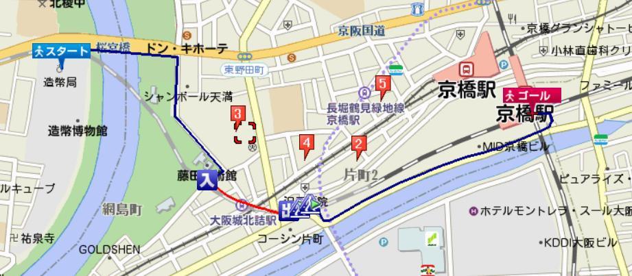 造幣局到京橋