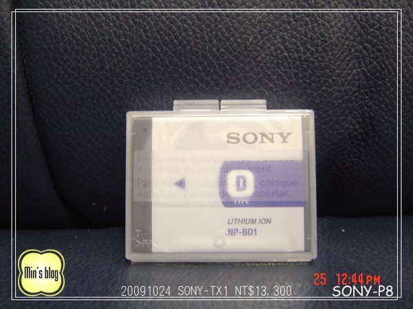 DSC02436 SONY-TX1 NT$13,300 20091024.JPG