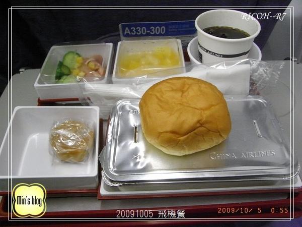 R0019373 20091004 飛機餐.JPG