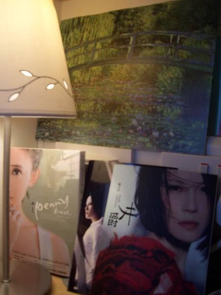 我收藏的畫和CD...