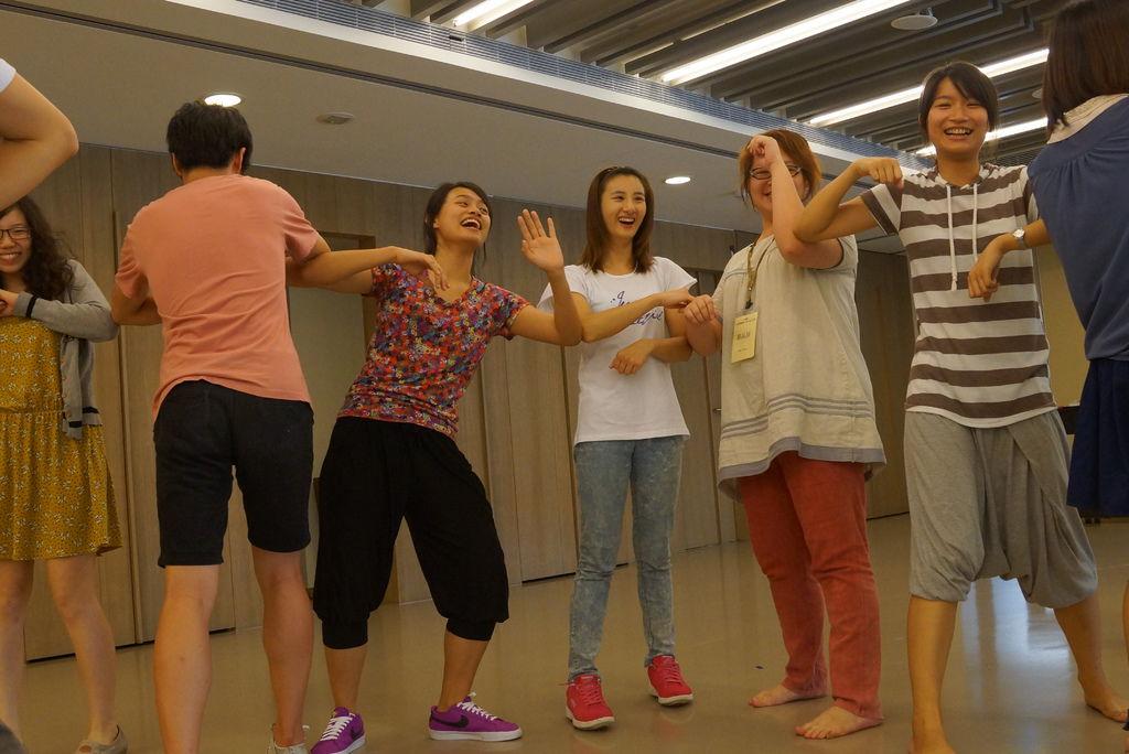 心劇團義工培訓-肢體律動課程