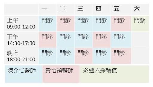【門診時間】心悠活門診表及服務項目介紹