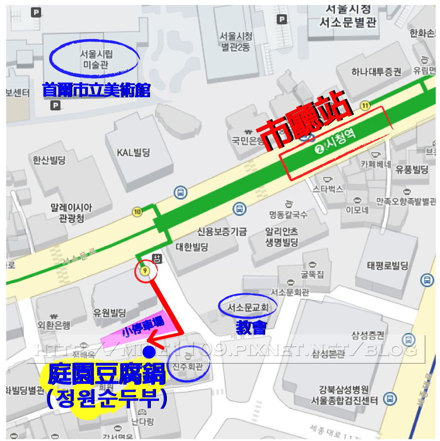 庭院豆腐鍋map
