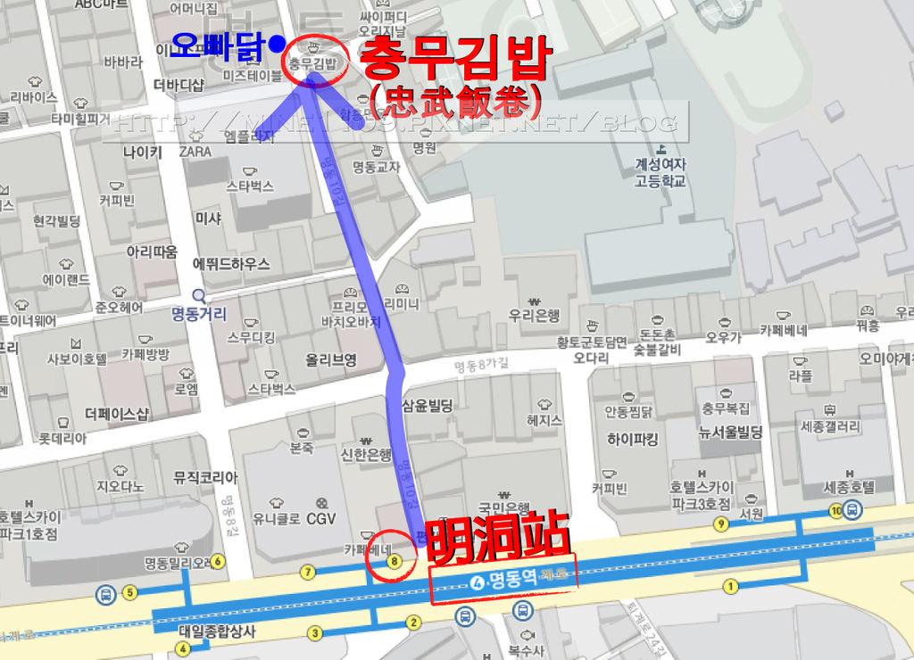 忠武飯卷map