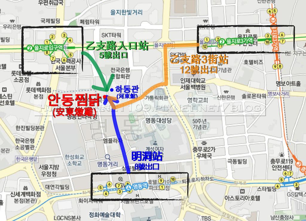 安東map