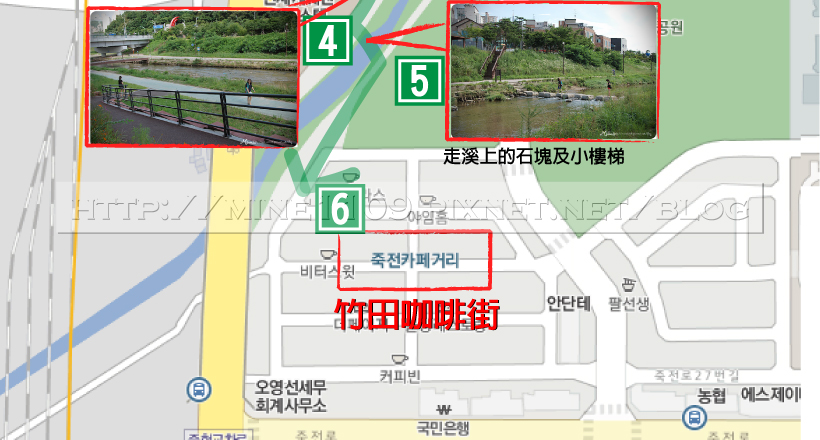 竹田咖啡街map-1