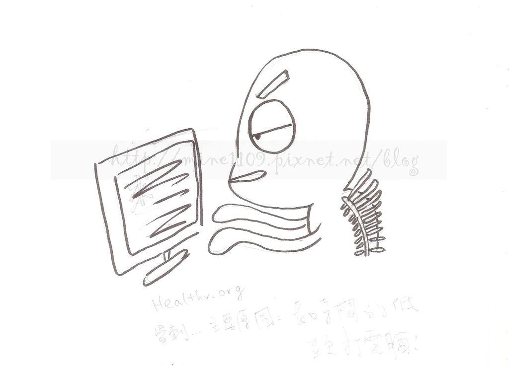 骨刺-手繪