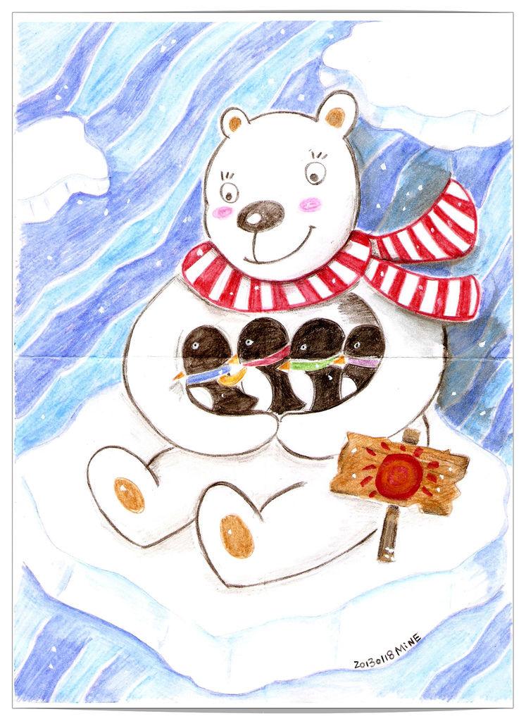 北極熊企鵝