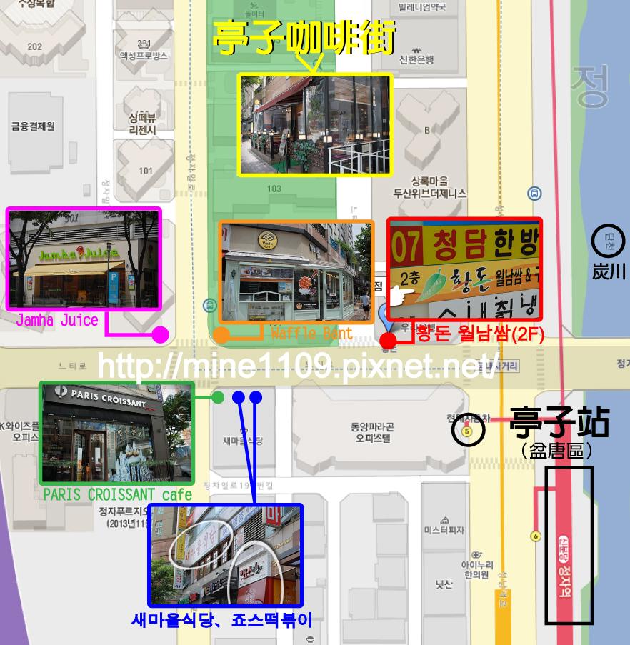 盆唐map