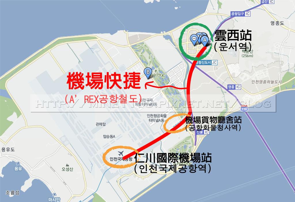 雲西map