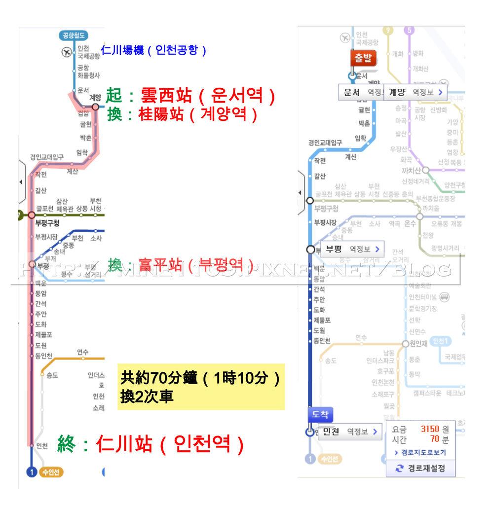 2仁川map