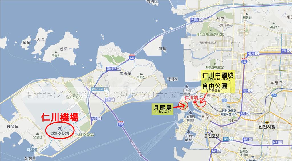 1仁川map