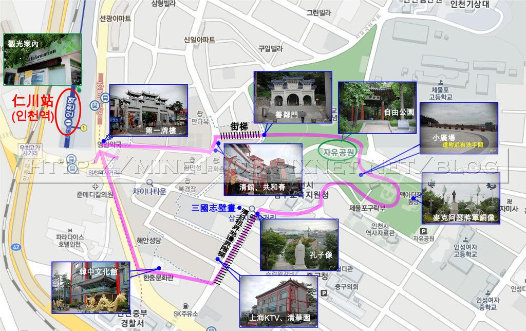 3仁川map