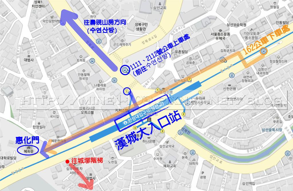 城墎階梯map